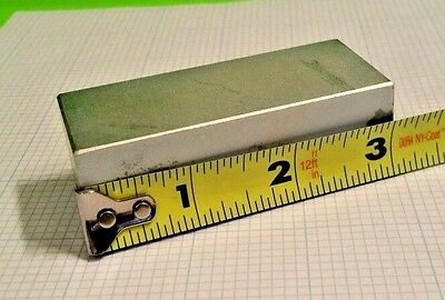1 Large Neodymium Block Magnet N50 Grade Rare Earth Magnet. New Super Magnet