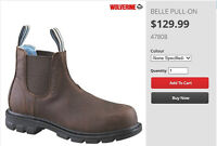Women's Safety Boots (Brand New)