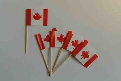 Flaggen Zahnstocher Kanada Fahne Flagge Minipicker Partyzahnstocher