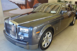 04 Rolls-Royce Phantom -Rolls Royce full Warranty - Canadian car