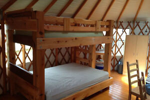 Hand crafted one of a kind real wood beds by local family Co. Comox / Courtenay / Cumberland Comox Valley Area image 10