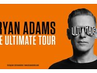 Bryan Adams Tickets 3 ROWS FROM STAGE Manchester Arena