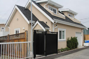 2 Bedroom 2 Bath Laneway House WITH GARAGE and BALCONY for Rent