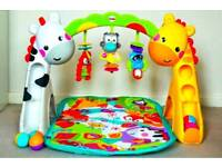 Fisher-Price Newborn To Toddler Play Gym with Lights and Sound