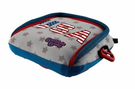 Brand new Bubble Bum Car Booster Seat (4-11 yrs), Union Jack