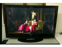 "50"" samsung plasma tv with freeview"