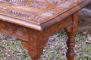 Vintage Chip Carved Table and other antique occasional tables Martin Gosnells Area Preview