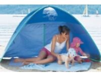 Jojo Maman Bebe sun tent (UPF 50+ ideal for protecting your family from sun/wind/rain).