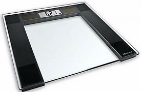 Medisana Solar Powered Personal Scales (Max 180kg) Glass Topped