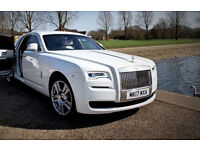 rolls royce ghost Series II self drive hire / Chauffeur driven