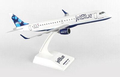 Skymarks Jetblue Embraer E190 1 100 Scale With Stand Reg N318jb