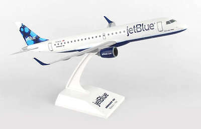 Skymarks Skr851 Jetblue Embraer Erj 190 Desk Display 1 100 Jet Model Airplane