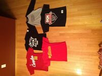 5 skateboard brand shirts 40 for all or 10 each