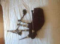 Set of beginner McCallum Bagpipes