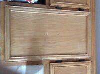 porte d'armoiries de cuisine