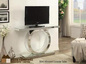 Modern mirrored console table (MA833)