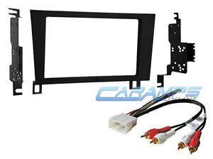 NEW DOUBLE 2 DIN CAR STEREO RADIO INSTALL KIT W WIRE FITS 1993-1997 LEXUS GS300