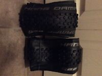 Two Hans Dampf 27.5 by 2.35 mountain bike tires. New.
