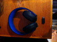 Sony PS3/PS4 Wireless Gold Headset