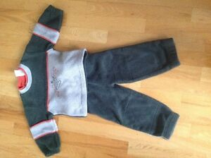Fleece suit (boys)
