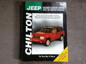 CHILTON Repair Manual for JEEP