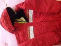 Manteau d'hiver rouge Bad Bones