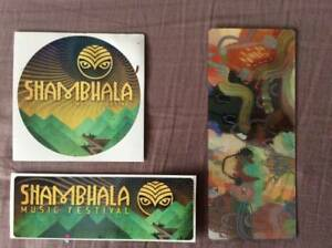 Shambhala Music Festival HARD COPY TICKETS 2018 ( 5 tickets )