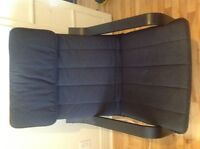 Armchair ikea black in. Excellent condition