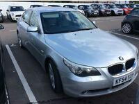 2005 BMW 525 2.5 PETROL AUTOMATIC E60 SILVER i SE NEW MOT