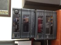 Media Player and 2 speakers