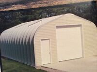 Steel Quonset hut new 16 X 24
