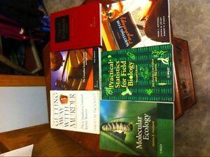 Trent U textbooks. Forensics, Science Peterborough Peterborough Area image 1