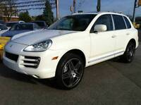 2008 PORSCHE CAYENNE S - UPGRADED TURBO WHEELS / 1 OF A KIND.