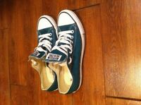 Teal Green Converse Shoes!!!