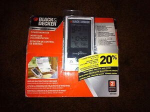 Black & Decker - Energy Saver Power Monitor (Retails for $245) Windsor Region Ontario image 1