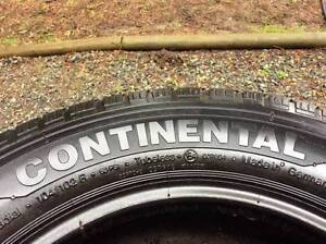 Continental Vanco-8 195 70r 15c Tires set of 4 - $100