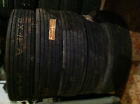 5 CTC L75-15 Belted Whitewall Tires