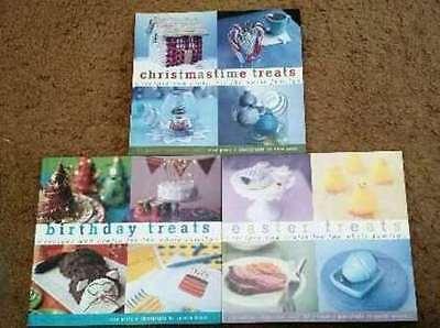 Birthday Treats, Easter Treats,Christmas Treats 3 Bks Recipes,Crafts Sara Perry](Christmas Treats Recipes)