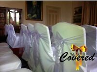 Job Lot. 177 Grade A white linen / cotton / polycotton wedding & event chair covers. £1.13 each!!