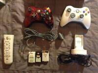 Xbox 360 Gears of War edition w/ & accessories + two controllers