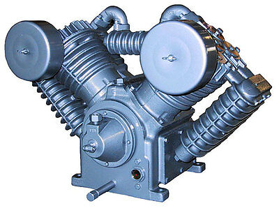 Model 707 Saylor Beall Splash Lubricated Two Stage Air Compressor Bare Pump