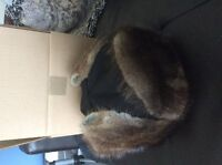 Canadian Forces issued Yukon style fur hat