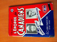 L'Epopee des Canadiens Vintage Book