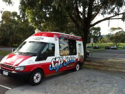 Ice Cream Van Mr Whippy for Hire Soft Serve & Gelati