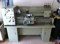 """Looking for clean, lightly used 12 to 14"""" metal lathe"""