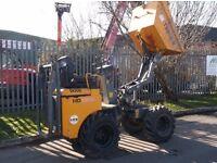 Terex 1 ton Dumper Hi Tip HD1000 not Thwaites