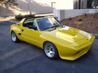 WANTED! Fiat X 1/9 with Eurosport body kit