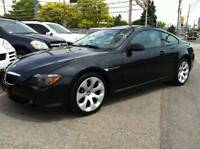 2004 BMW 645Ci COUPE - ULTRA SPORT PKG - NAVIGATION / 6 SPEED