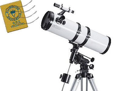 Visionking 6 inches 150 - 750mm EQ Reflector Astronomical Telescope While