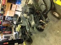 100 2 lawn tractor or best offer